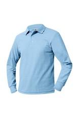 UNIFORM Pique Polo Long Sleeve Shirt  Saint Andrew