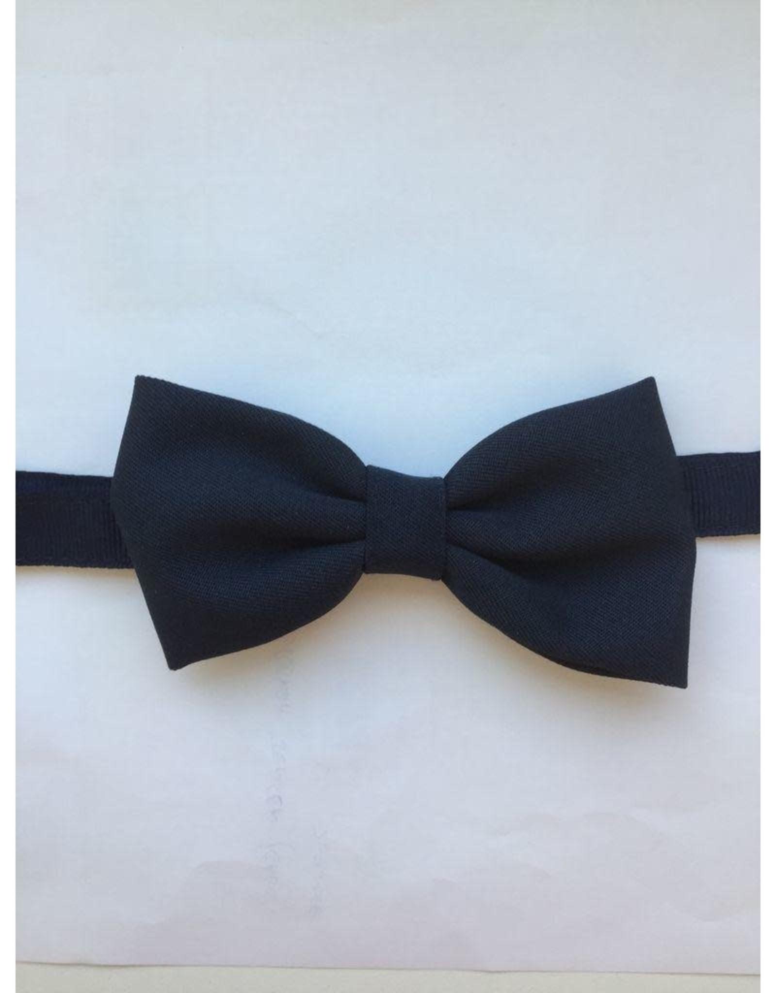 UNIFORM Navy Bow Tie w/adjustable neck strap