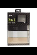 UNIFORM Nike Classic Essentials Web Golf Belt 3 pack