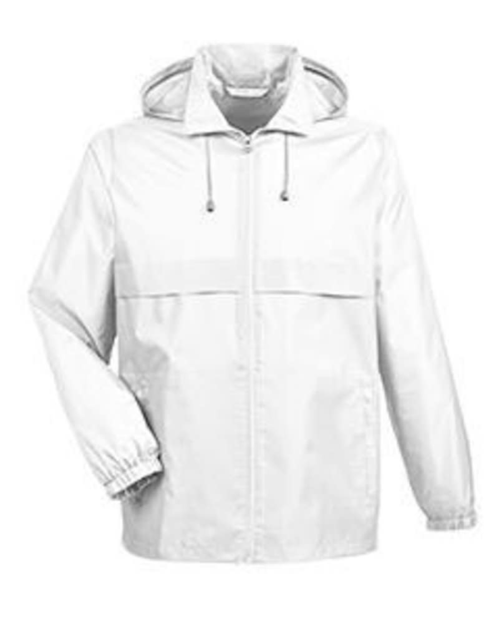 NON-UNIFORM JACKET - Custom Lightweight Jacket with Detachable Hood grey white or navy