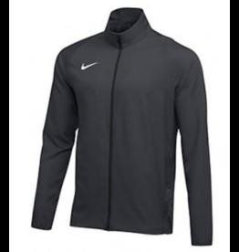 NON-UNIFORM Nike jacket, grey woven jacket, full zip, eagle on left chest