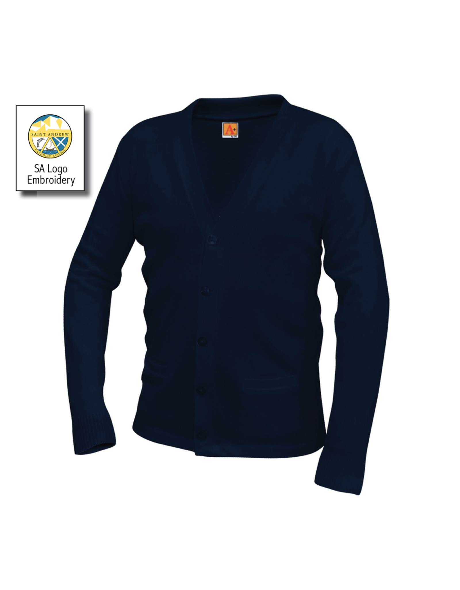 UNIFORM Saint Andrew Cardigan Sweater, Unisex