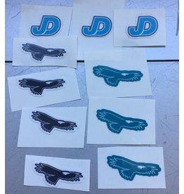 NON-UNIFORM JD Mini-Sticker - JD, mini variety decal