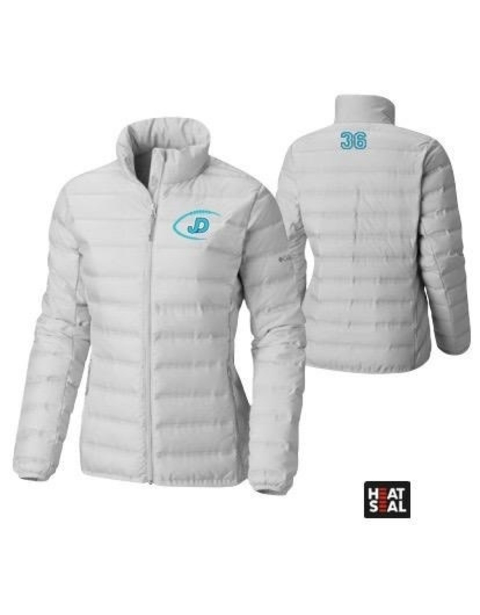 NON-UNIFORM Women's Columbia embroidered JD Football Jacket