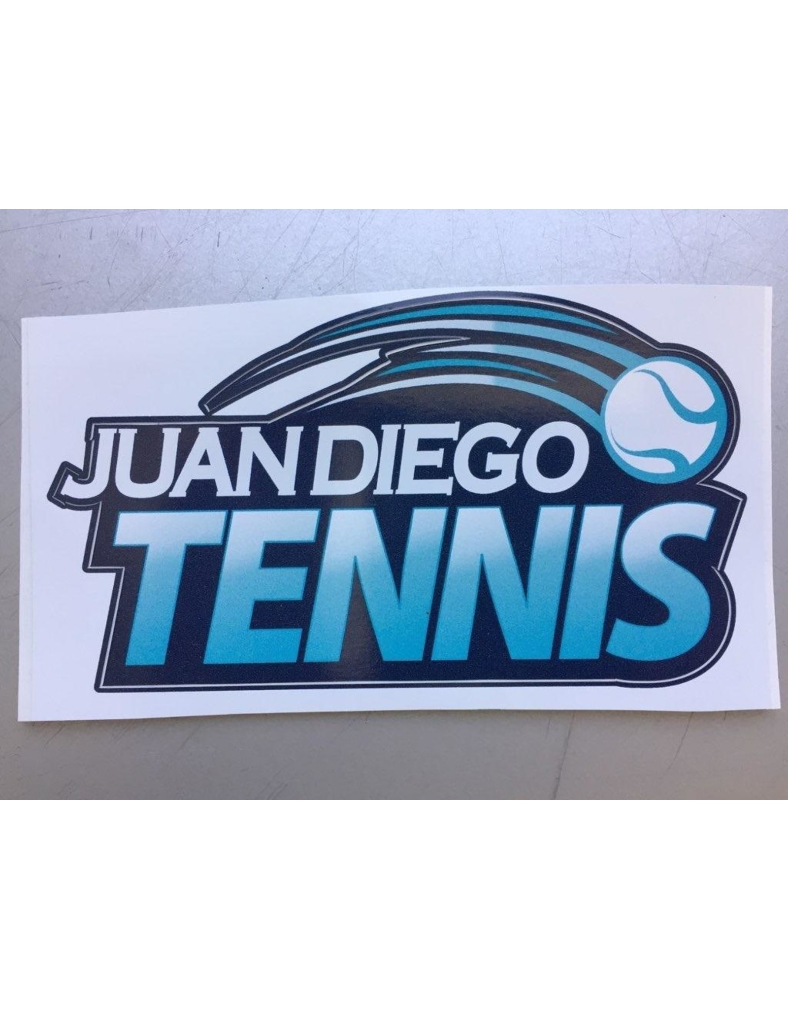 NON-UNIFORM Juan Diego Tennis Decal, New Design