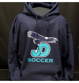 NON-UNIFORM Sweatshirt - Pullover Hoodie, large JD Soccer logo