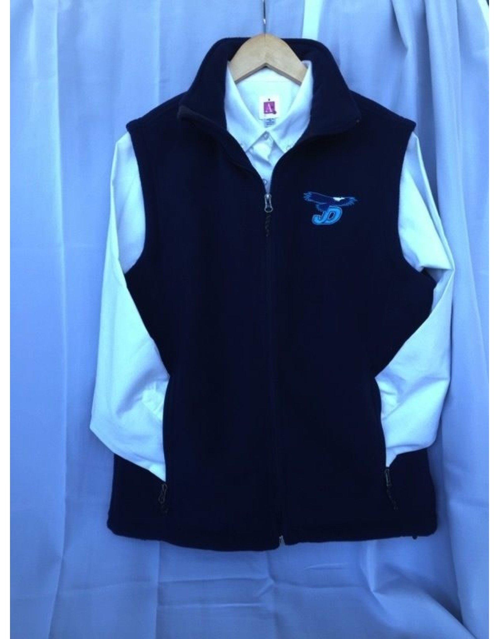 NON-UNIFORM Vest - JD Fleece Sleeveless Full Zip