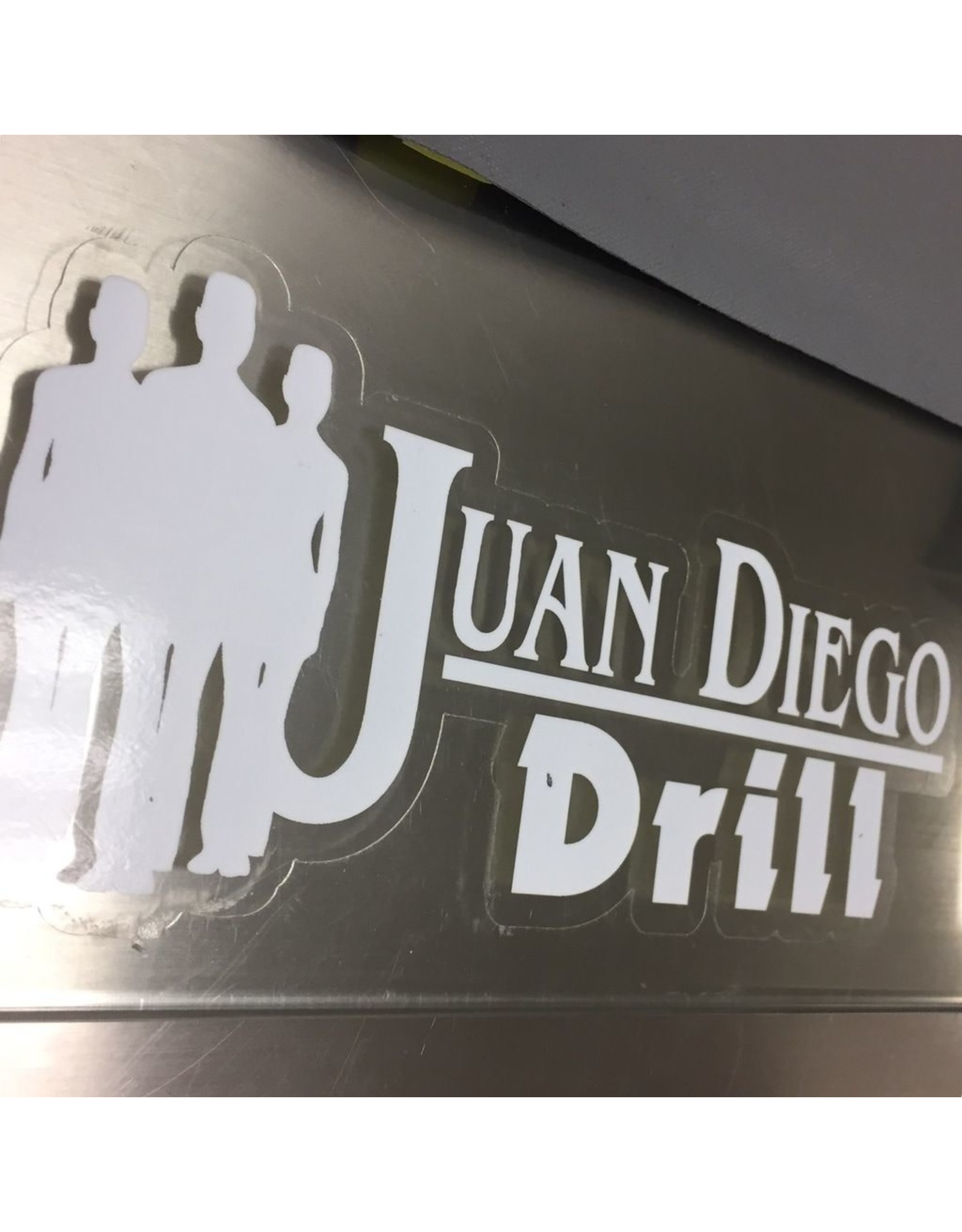 NON-UNIFORM Drill - Decal, clearance, sold as is