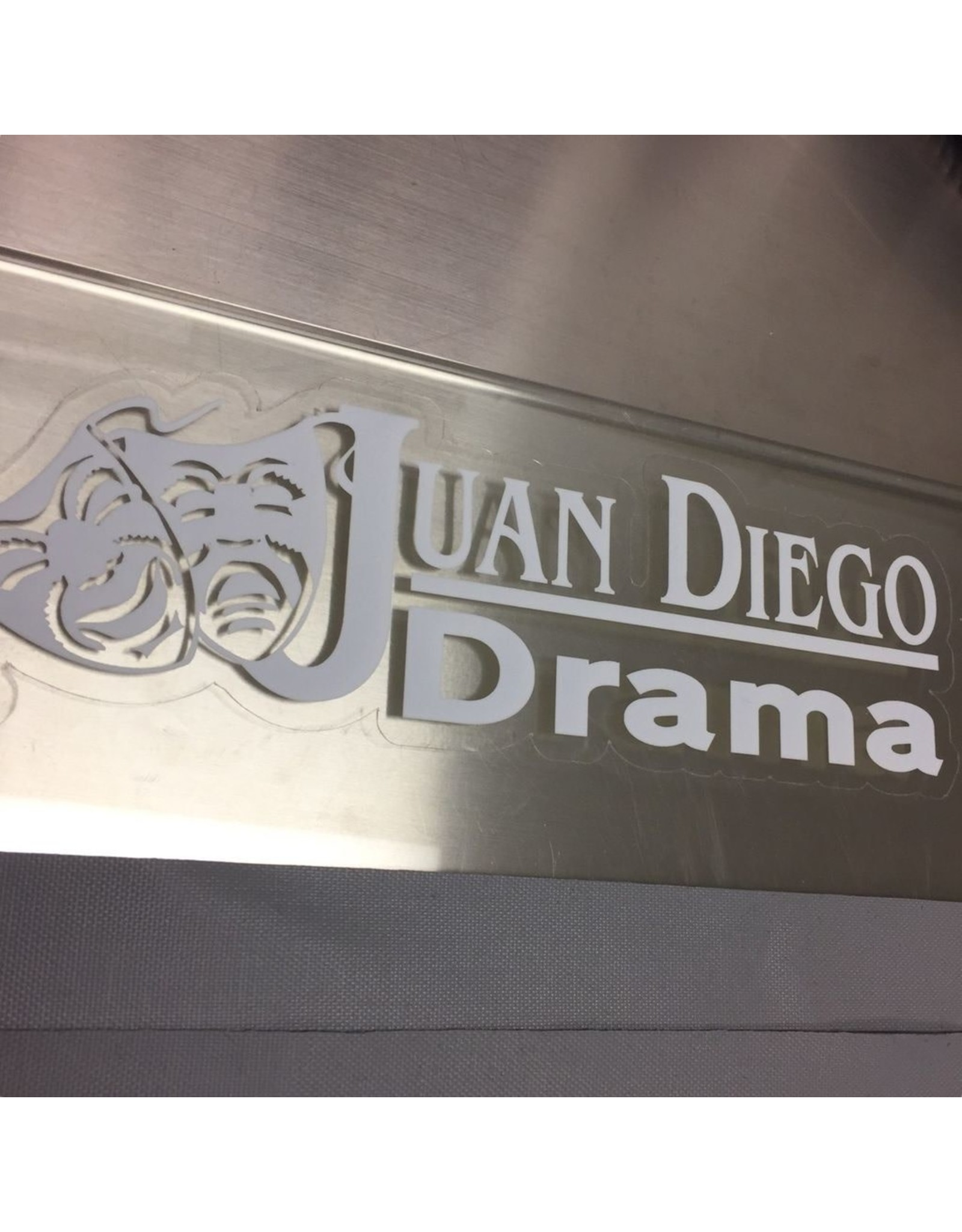 NON-UNIFORM Drama - Decal, clearance, sold as is