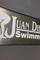NON-UNIFORM Swimming - Decal, clearance, sold as is