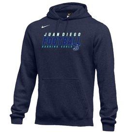 NON-UNIFORM Football Sweatshirt - Nike Fleece Hooded Pullover, JD - Custom, youth & adult sizes