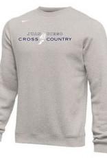 NON-UNIFORM Unisex All Sports Nike Club Fleece Hoodie in Grey