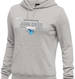 NON-UNIFORM Nike Baseball Hooded Sweatshirt, Womens