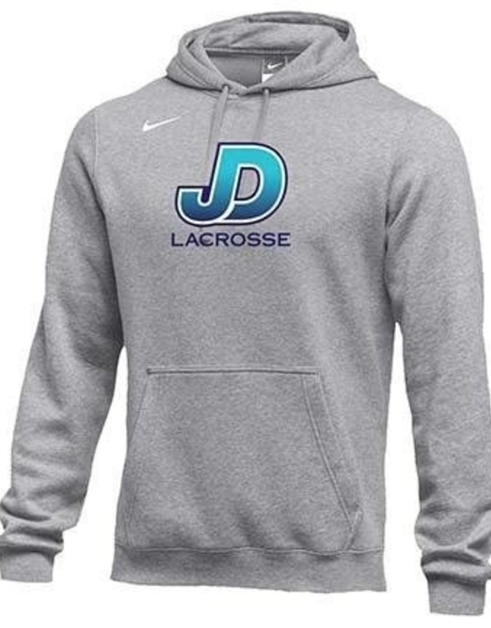 NON-UNIFORM Unisex Nike Lacrosse Sweatshirt in Grey