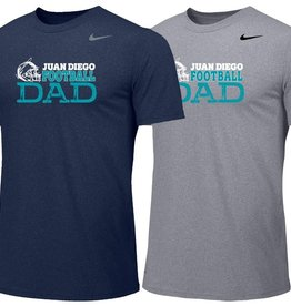 NON-UNIFORM JD Nike Dad Football Tee