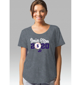 NON-UNIFORM Baseball, Custom Order Senior Mom Shirt