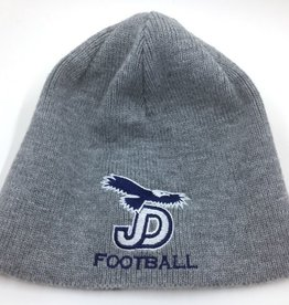 NON-UNIFORM Beanie - JD Gray Knit football