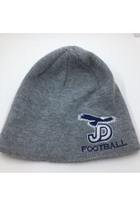 NON-UNIFORM Beanie - JD Gray Knit football