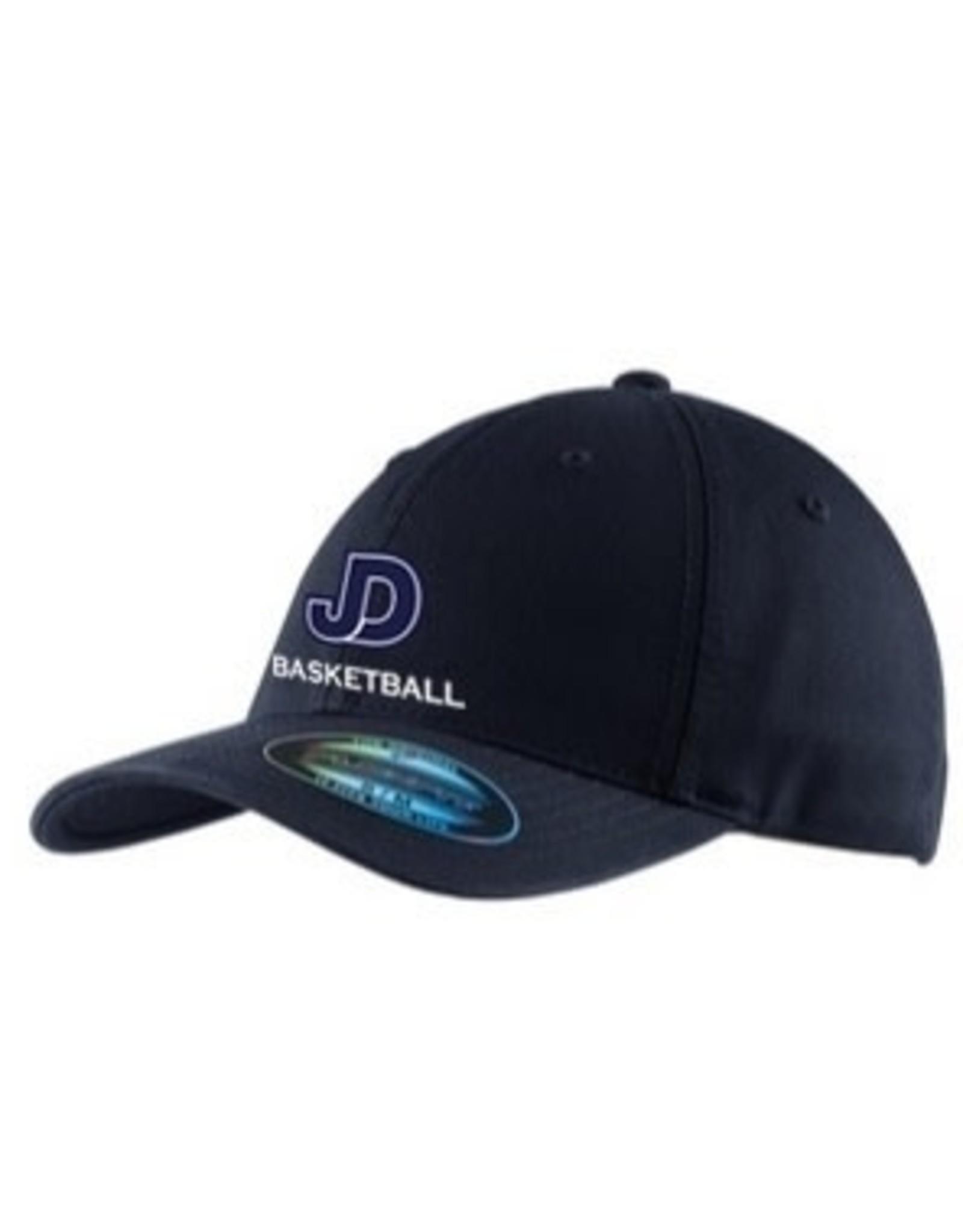 NON-UNIFORM Boys Basketball navy embroidered hat