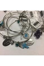 NON-UNIFORM Bracelet - Bangle Bracelet with Jewels, Local Artist