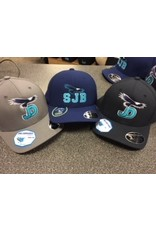 NON-UNIFORM CAP - Adjustable hat with SJB logo W/Eagle or JD logo w/Eagle, gray or navy