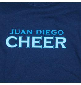 NON-UNIFORM Cheer, Juan Diego Cheer Custom Order Navy Unisex s/s t-shirt