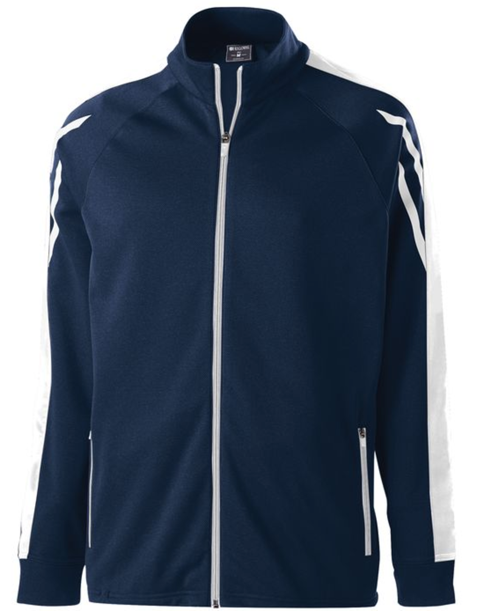 NON-UNIFORM Flux jacket with custom SilverLine embroidery.