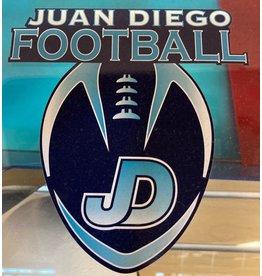 NON-UNIFORM Football - Decal, Juan Diego Football