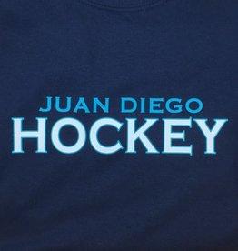 NON-UNIFORM Hockey, Juan Diego Hockey Custom Order Navy Unisex s/s t-shirt