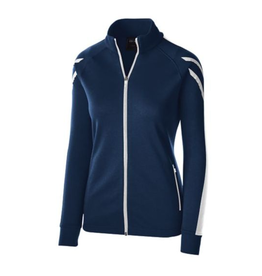 NON-UNIFORM JACKET - Ladies Flux jacket with custom embroidery