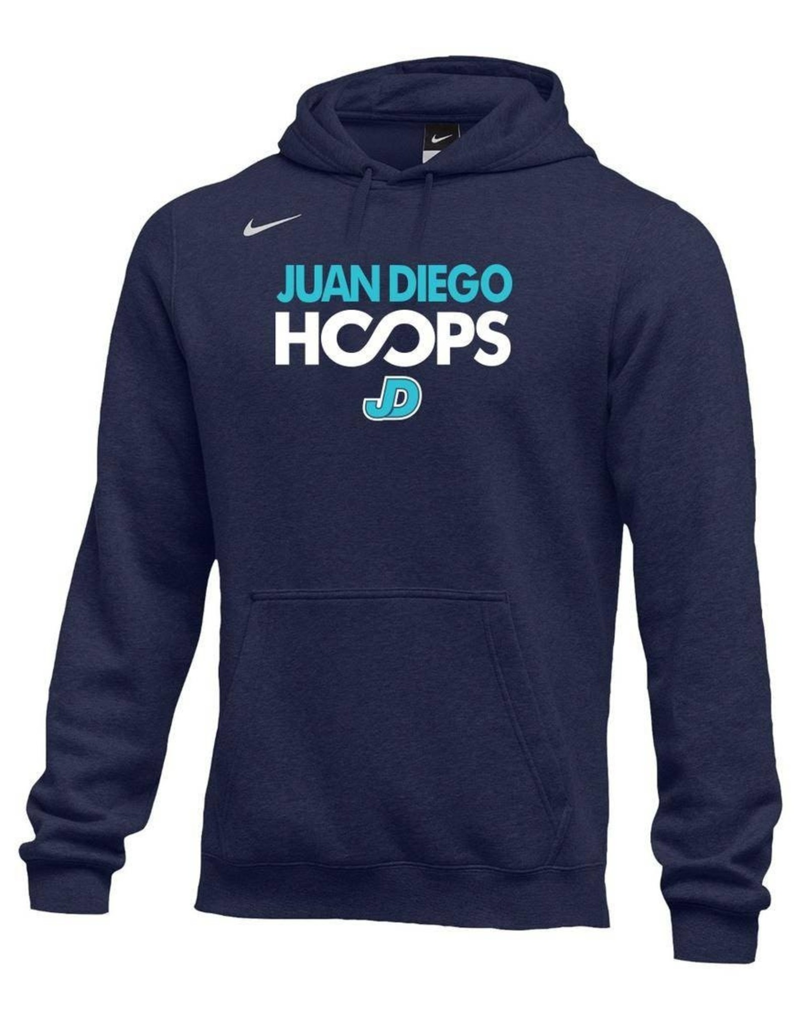 NON-UNIFORM JD Basketball Nike Hoops Hooded Sweatshirt