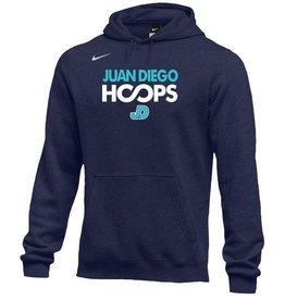 NON-UNIFORM JD Basketball Nike Hoops Hooded Sweatshirt