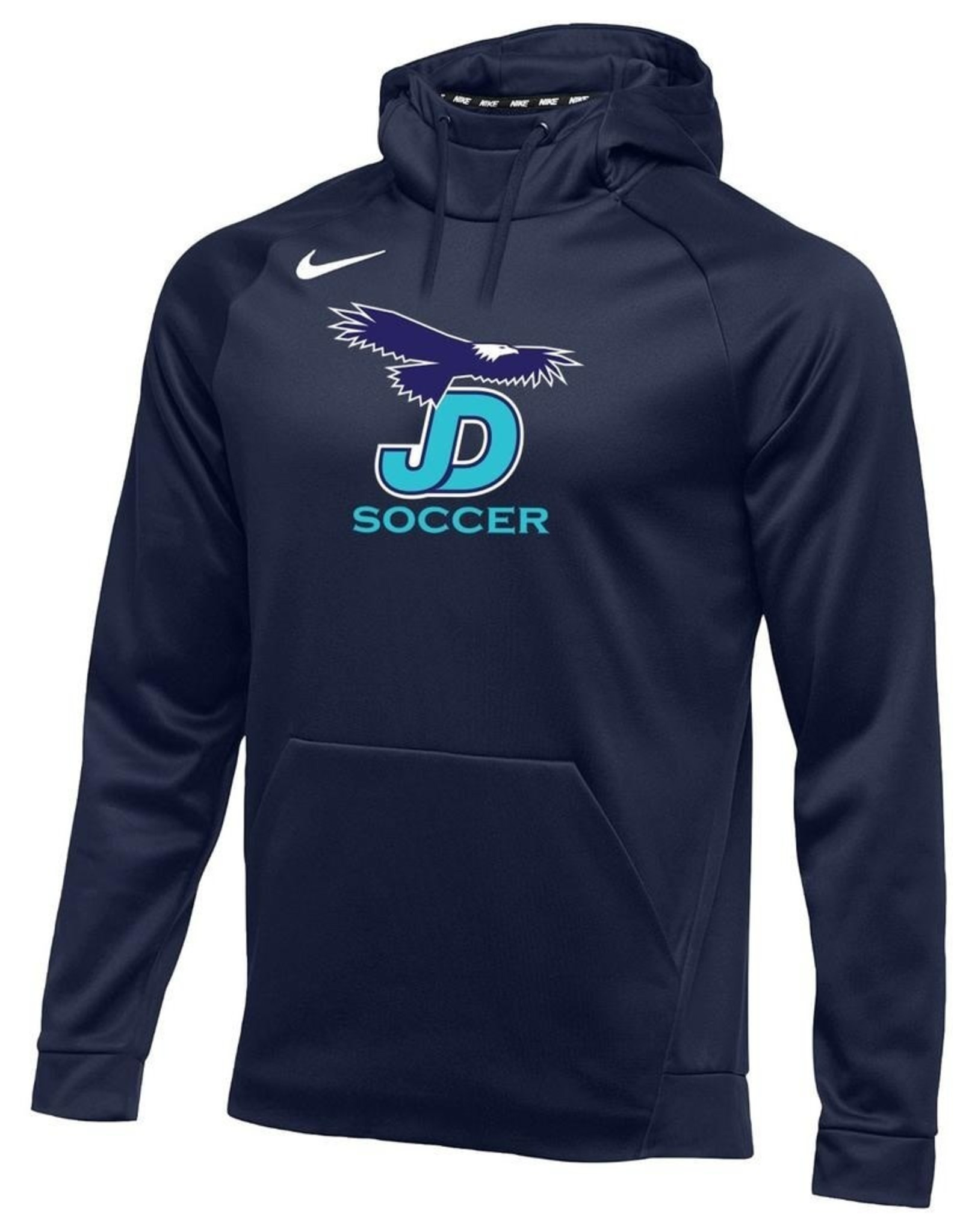 NON-UNIFORM JD Boys Soccer, Nike Therma Pullover Hoodie