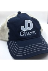 NON-UNIFORM Hat - JD Cheer Soft mesh, enzyme-washed twill  cap