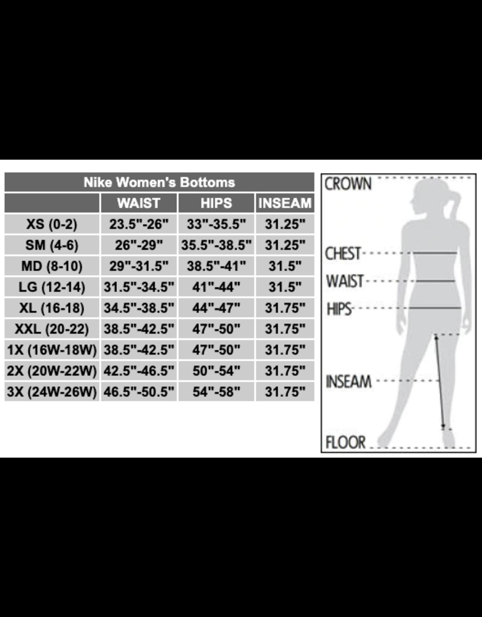 NON-UNIFORM JD Girls Tennis Nike Team Authentic Tapered Pants - Women's