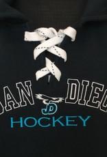 NON-UNIFORM JD J. America Sport Laced Hood JD Hockey logo