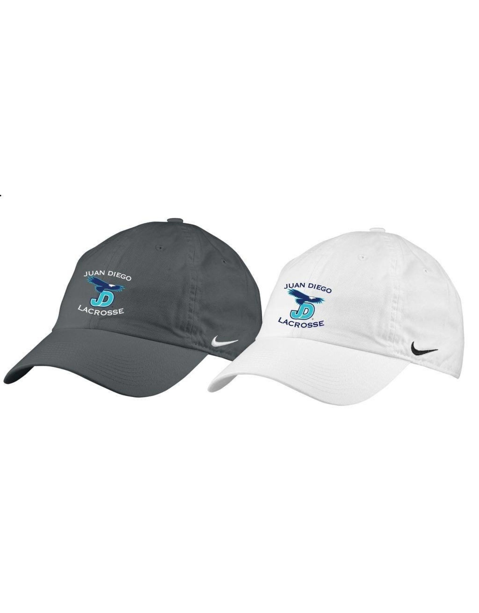 NON-UNIFORM JD Lacrosse Hat in white or grey