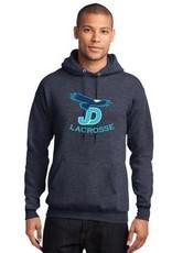 NON-UNIFORM JD Lacrosse Navy Heathered Sweatshirt