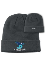 NON-UNIFORM JD Lax Nike Knit Hat with Embroidered Logo