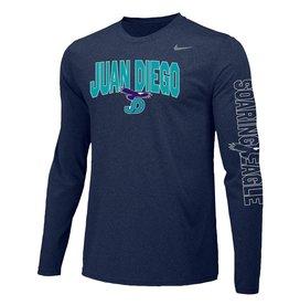 NON-UNIFORM JD Soaring Eagle Spirit - Nike Legend Long Sleeve Shirt with arm detail, Unisex