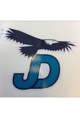 """NON-UNIFORM JD Sticker - 3.75""""x3.25""""Die-cut decal"""