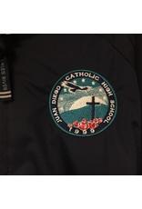 NON-UNIFORM Striped Pullover 1/4 Zip Jacket, custom - Hooded