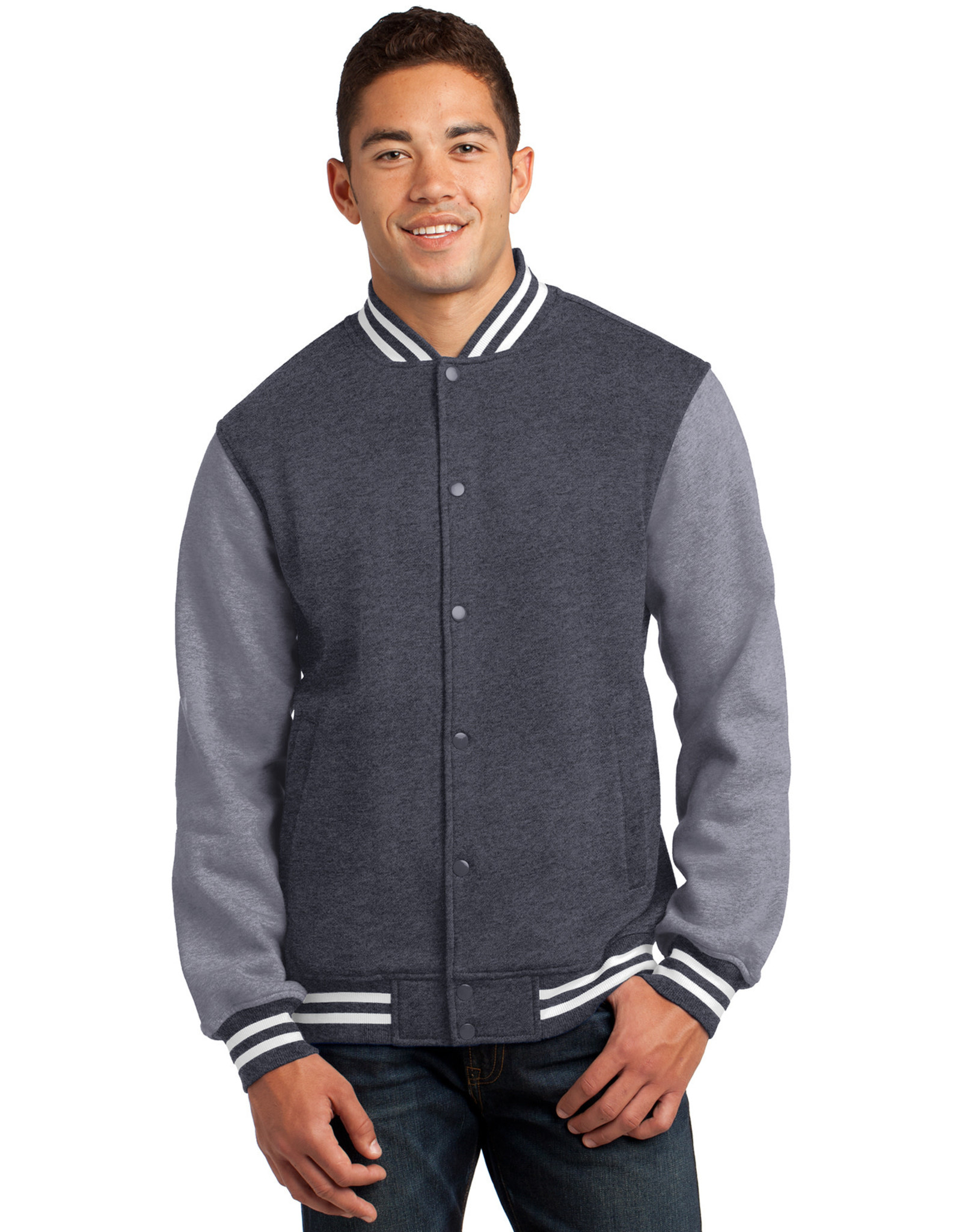 NON-UNIFORM JD Theatre Letterman Jacket, Sport Tek Fleece