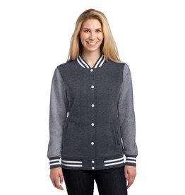 NON-UNIFORM JD Theatre Ladies Letterman Jacket, Sport Tek Fleece