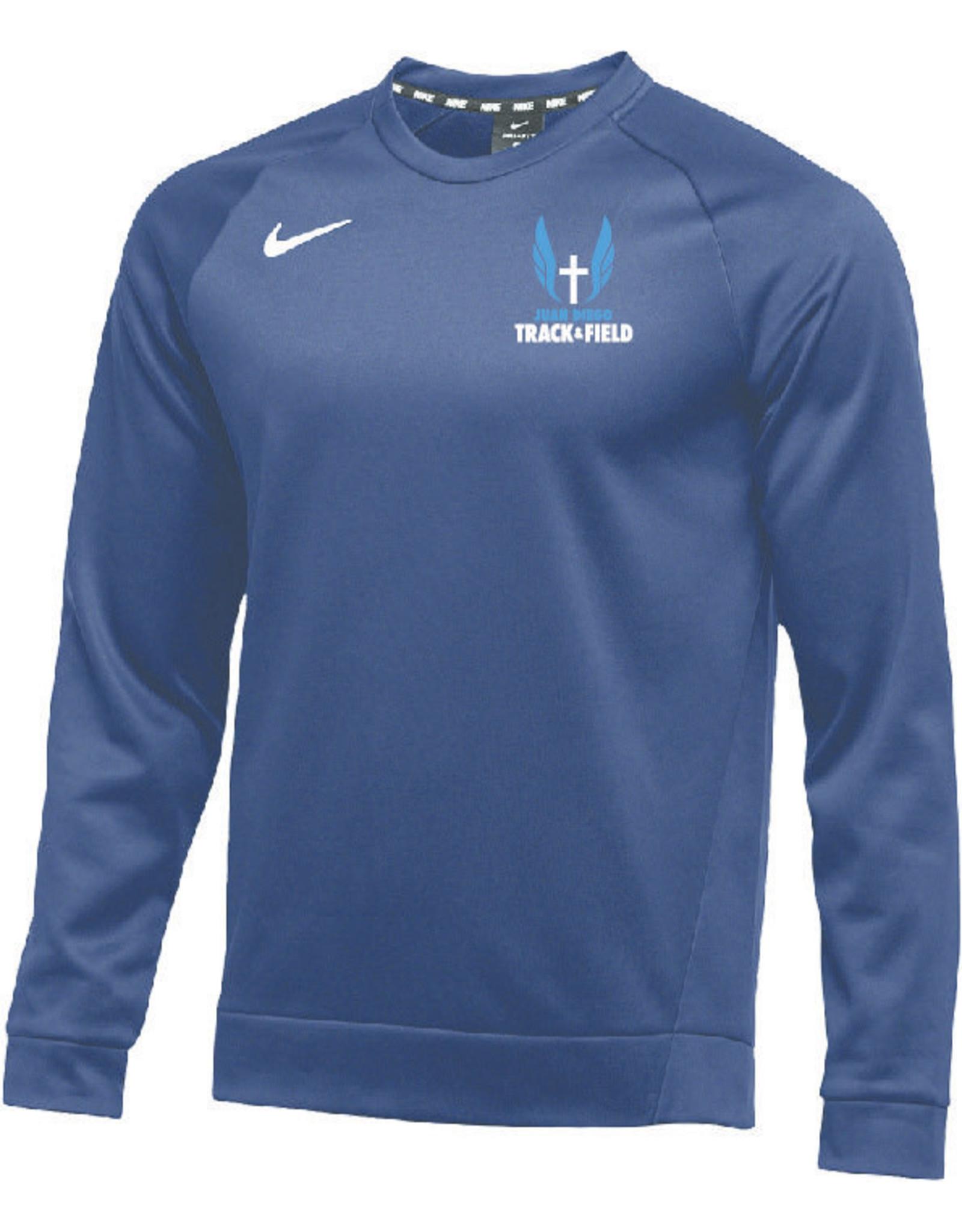 NON-UNIFORM JD Track & Field Custom Nike Team Therma Crew