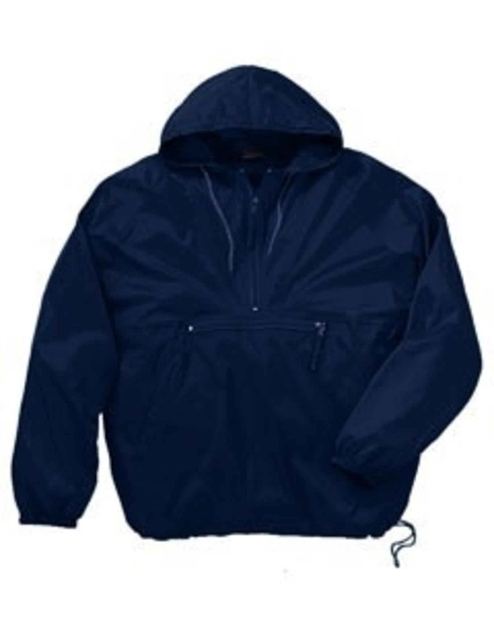 NON-UNIFORM Windbreaker Jacket, pack-n-go 1/2 zip pullover, Custom Order