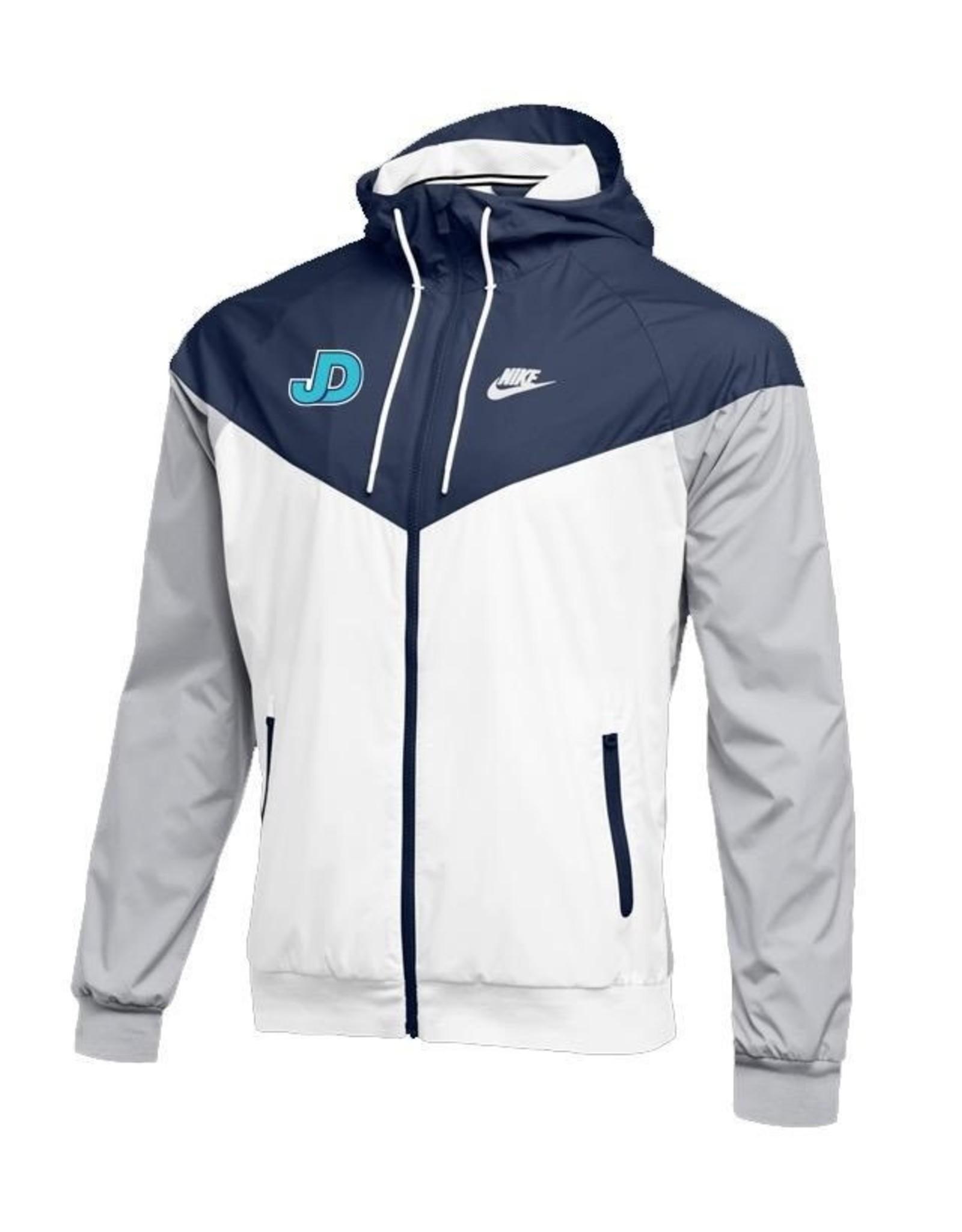 NON-UNIFORM JD Windrunner Jacket, Custom Baseball, navy