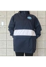 NON-UNIFORM Jacket - JDCHS Classic Striped Hooded Pullover. JDCHS LOGO CLASSIC CHARLES RIVER STRIPED (CRS) PULLOVER