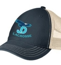 NON-UNIFORM Lacrosse Embroidered two-tone adjustable mesh  hat