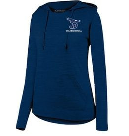 NON-UNIFORM Ladies Shadow Tonal Heather Hoody with Embroidered Logo